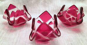 """Pink Tealight (approx. 3"""" x 3"""" x 2""""), $8 each"""
