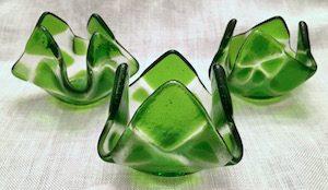 "Spring Green (approx. 3"" x 3"" x 2""), $8 each"